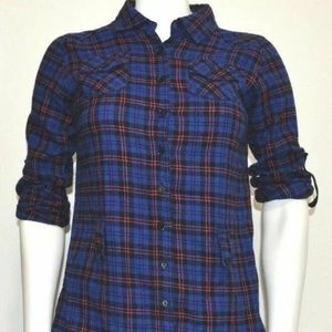 Ambiance Apparel Flannel Size M Plaid